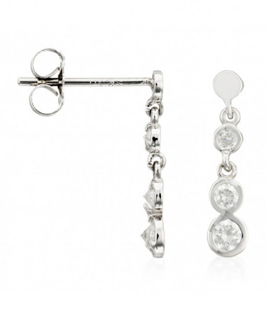 "Boucles D'Oreilles  Simply You"" Or Jaune 375/1000"""