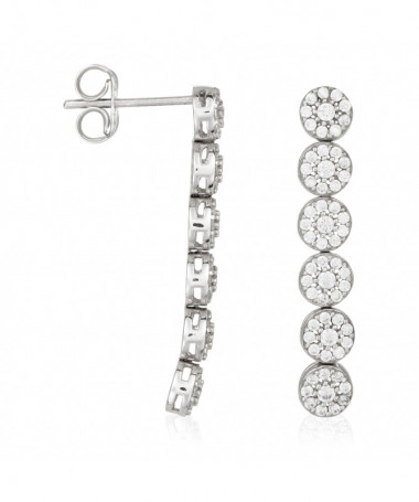 Pendentif Créor Bijoux Lova Pearl Perle Blanche Or Jaune 375/1000