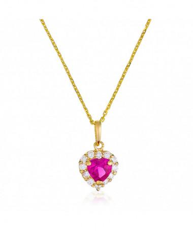 Pendentif  Splendide Perle Blanche Or Jaune 375/1000