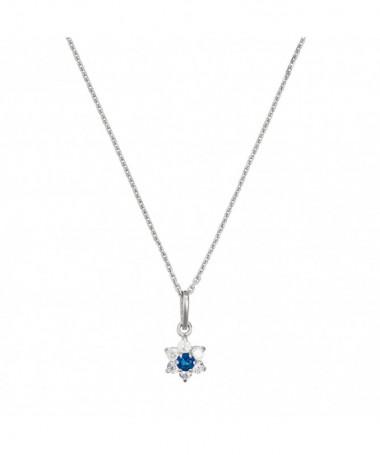 Pendentif  Langoureux Perle Blanche Or Jaune 375/1000