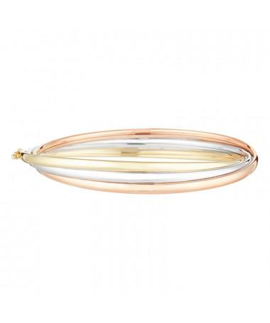 Bracelet  bracelet Reconnaissance Or Bicolore 375/1000