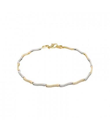 Bracelet  bracelet Love Is In The Air Or Jaune 375/1000