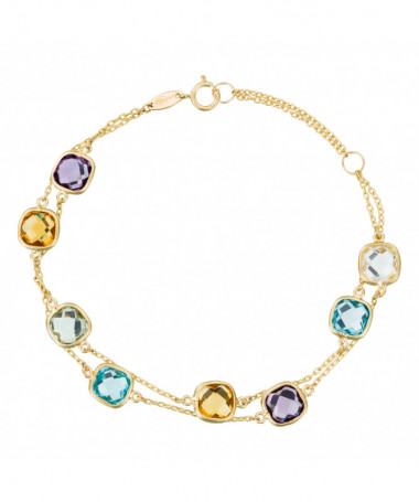 Bracelet  bracelet Or Blanc 375/1000