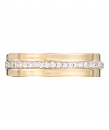 Bague  Fortune Or Blanc 375/1000