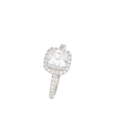 Bague  For Life Or Blanc 375/1000