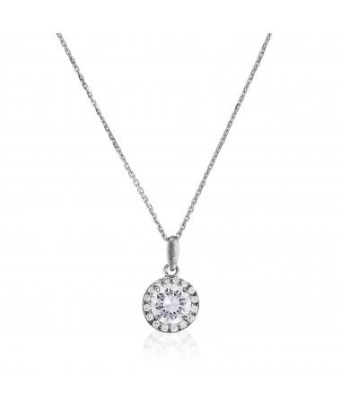 """Bracelet Cercle orageux"""" Or Jaune et Oxyde de Zirconium"""""""