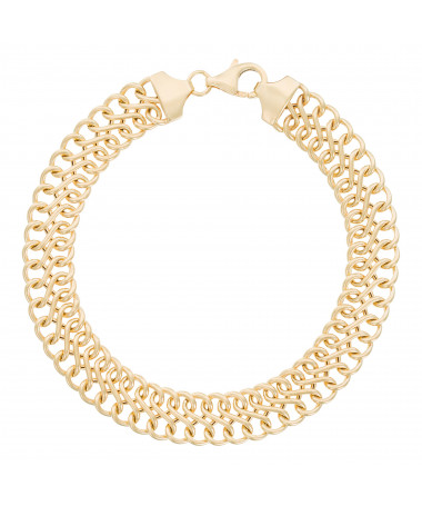 "Bracelet Maille ""Meli"" Or Jaune 375/1000"