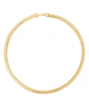 "Bracelet Maille ""Colina"" Or Jaune 375/1000"